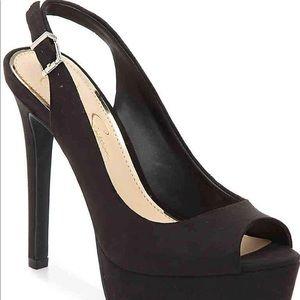 👀👠Sexy black Jessica Simpson heels